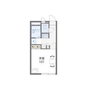 1K Apartment in Naito - Kokubunji-shi Floorplan