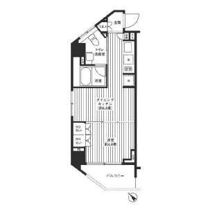 1DK Mansion in Udagawacho - Shibuya-ku Floorplan