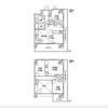 在港區內租賃4LDK 公寓大廈 的房產 房間格局