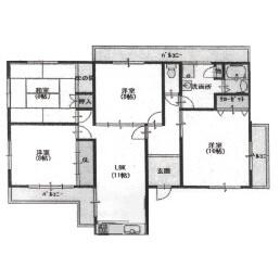 4LDK {building type} in Nushiyacho - Kyoto-shi Higashiyama-ku Floorplan