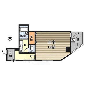 1K {building type} in Nishinakajima - Osaka-shi Yodogawa-ku Floorplan