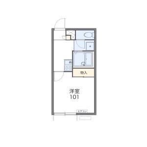 1K Apartment in Zushioku yakuracho - Kyoto-shi Yamashina-ku Floorplan