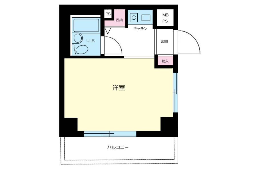 1K マンション 横浜市西区 外観