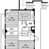 3DK Apartment to Rent in Sagamihara-shi Chuo-ku Floorplan