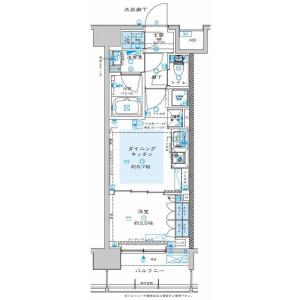 1DK Mansion in Namiki - Kawaguchi-shi Floorplan