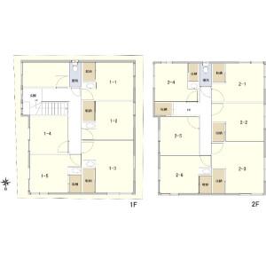 Whole Building {building type} in Okubo - Shinjuku-ku Floorplan
