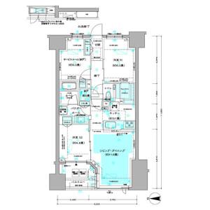 2LDK Mansion in Minamidai - Nakano-ku Floorplan