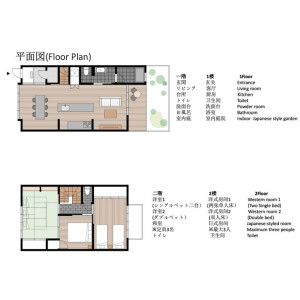 京都市中京区 西ノ京左馬寮町 3LDK {building type} 間取り
