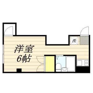 1R Mansion in Denenchofu - Ota-ku Floorplan