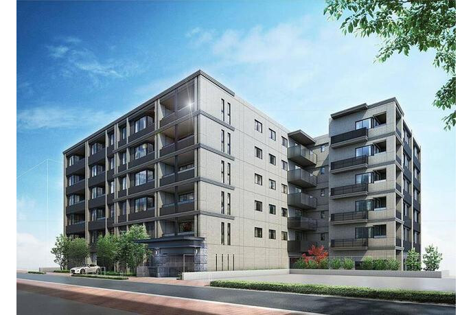 3LDK Apartment to Rent in Yokohama-shi Nishi-ku Exterior