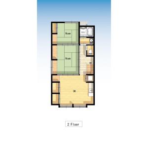 2DK House in Asakusa - Taito-ku Floorplan