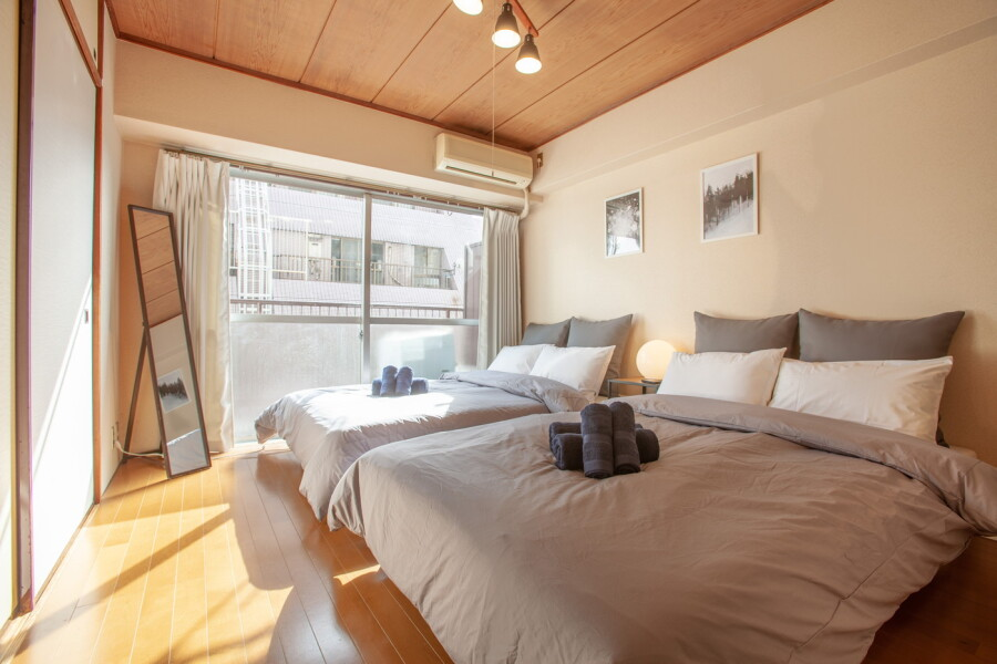 2DK Apartment to Rent in Taito-ku Bedroom