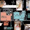 1DK House to Buy in Kyoto-shi Yamashina-ku Floorplan