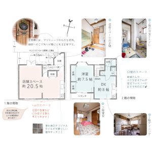 1DK {building type} in Nishinoyama dodocho - Kyoto-shi Yamashina-ku Floorplan