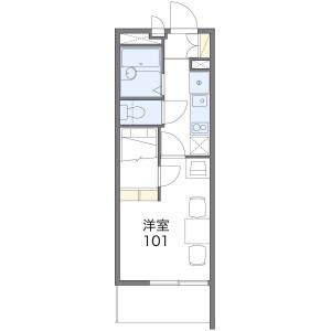 1K Mansion in Hasune - Itabashi-ku Floorplan