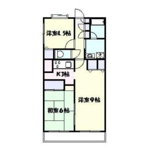 2LDK Mansion in Futago - Kawasaki-shi Takatsu-ku Floorplan