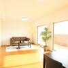 在尼崎市购买4SLDK 公寓大厦的 起居室