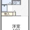1K Apartment to Rent in Chiba-shi Wakaba-ku Floorplan