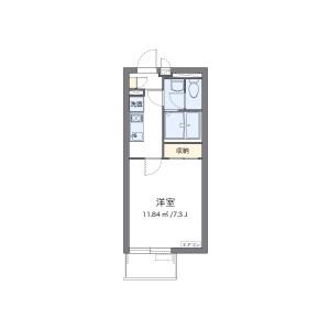 1K Mansion in Kairaku - Urayasu-shi Floorplan