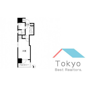 江东区佐賀-1K公寓大厦 楼层布局