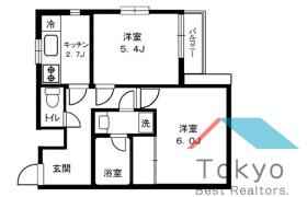 澀谷區本町-2DK公寓大廈