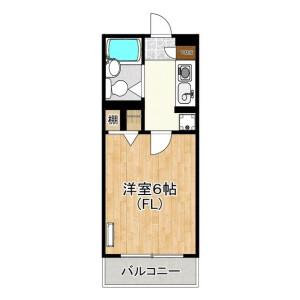 1K Mansion in Futago - Kawasaki-shi Takatsu-ku Floorplan