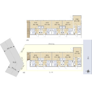 Whole Building {building type} in Hommachi - Fuchu-shi Floorplan