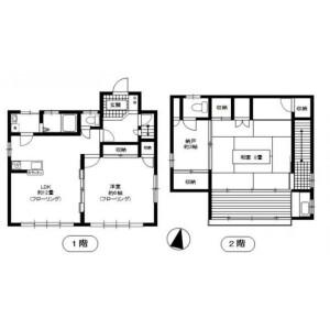 2LDK House in Minamiotsuka - Toshima-ku Floorplan