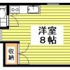 在中野区内租赁1R 公寓 的 楼层布局