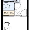 1K Apartment to Rent in Urayasu-shi Floorplan