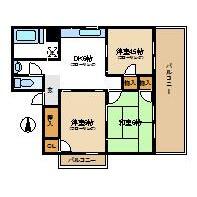 北区西ケ原-3DK公寓大厦 楼层布局