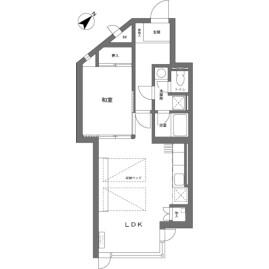 1LDK {building type} in Kitayama(sonota) - Chino-shi Floorplan