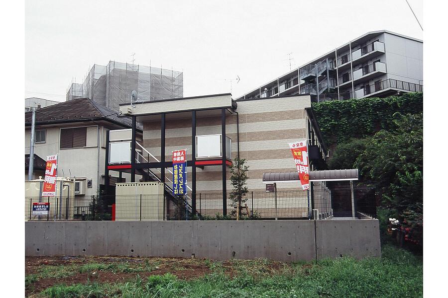 在横浜市港北区内租赁1K 公寓 的 户外