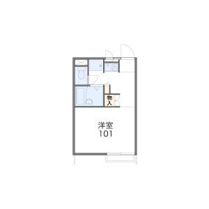 1K Apartment in Daitakubo - Saitama-shi Midori-ku Floorplan