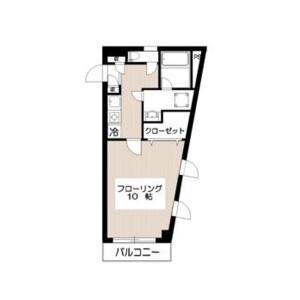 1K Mansion in Meguro - Meguro-ku Floorplan