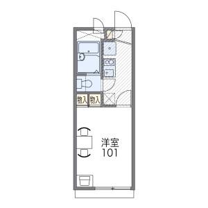 1K Apartment in Katayamacho - Suita-shi Floorplan