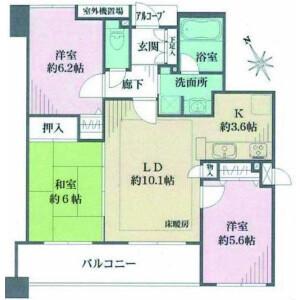 川口市並木-3LDK{building type} 房間格局