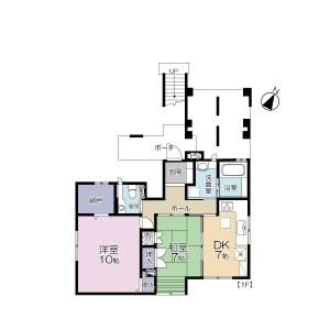 2DK Apartment in Higashiogu - Arakawa-ku Floorplan