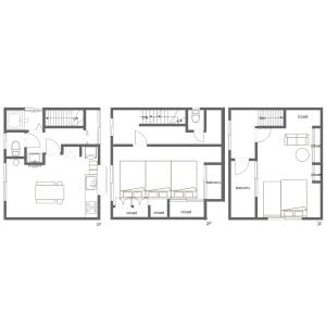 2LDK House in Haneda - Ota-ku Floorplan