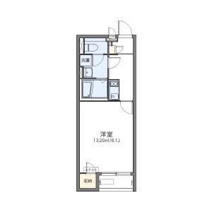 1K Apartment in Utano fukuojicho - Kyoto-shi Ukyo-ku Floorplan