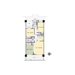 3LDK {building type} in Takaidonishi - Suginami-ku Floorplan