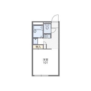 1K Mansion in Otsuka - Numazu-shi Floorplan