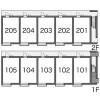 1K Apartment to Rent in Kawasaki-shi Miyamae-ku Layout Drawing