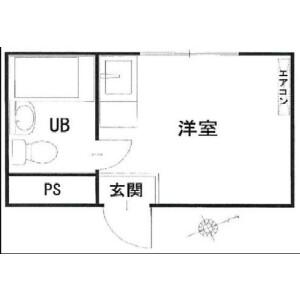 1R Mansion in Tamagawadai - Setagaya-ku Floorplan