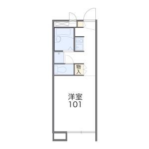 1K Apartment in Minamikase - Kawasaki-shi Saiwai-ku Floorplan
