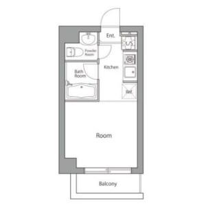 1R Mansion in Nakane - Meguro-ku Floorplan