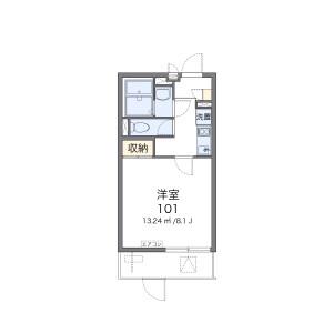 1K Mansion in Kunijima - Osaka-shi Higashiyodogawa-ku Floorplan