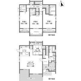 4LDK {building type} in Shiozakicho - Itoman-shi Floorplan