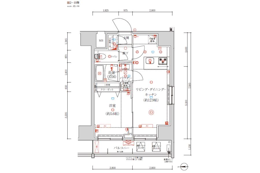 1LDK Apartment to Buy in Taito-ku Interior
