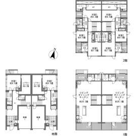 8LDK {building type} in  Floorplan